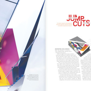 monument magazine: Birkbeck feature spread