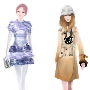 Marie Claire illustrations