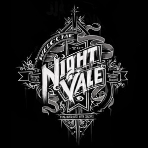 Welcome to Night Vale typographic art