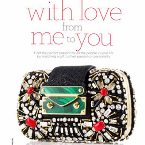 marie claire fashion: Christmas gift guide opener