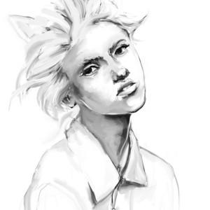 Portrait: Cat
