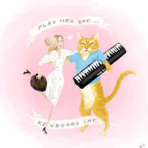 Play Her Off, Keyboard Cat